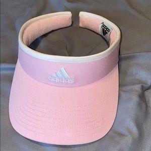 Pink Adidas sun hat